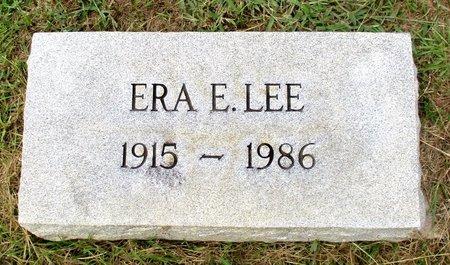 LEE, ERA E. - Cass County, Texas | ERA E. LEE - Texas Gravestone Photos