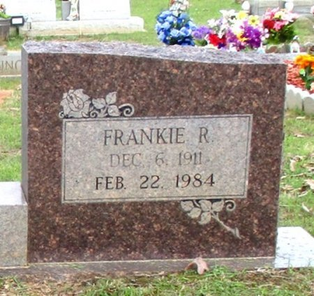 LEE, FRANKIE R. (CLOSE UP) - Cass County, Texas | FRANKIE R. (CLOSE UP) LEE - Texas Gravestone Photos