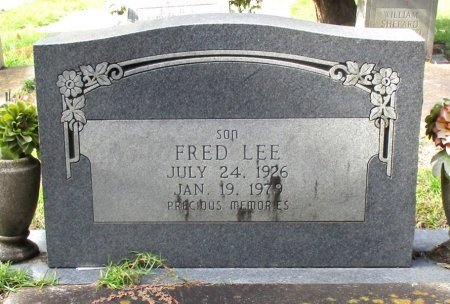 LEE, FRED  - Cass County, Texas | FRED  LEE - Texas Gravestone Photos