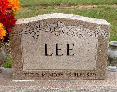 LEE , FAMILY MARKER - Cass County, Texas | FAMILY MARKER LEE  - Texas Gravestone Photos