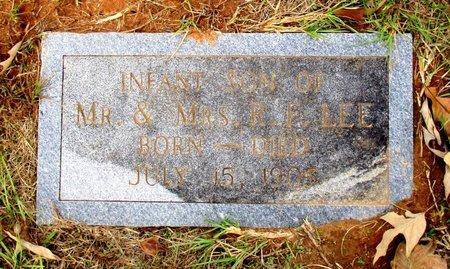 LEE, INFANT SON - Cass County, Texas | INFANT SON LEE - Texas Gravestone Photos