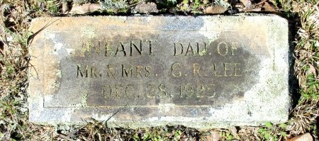 LEE, INFANT DAUGHTER - Cass County, Texas | INFANT DAUGHTER LEE - Texas Gravestone Photos