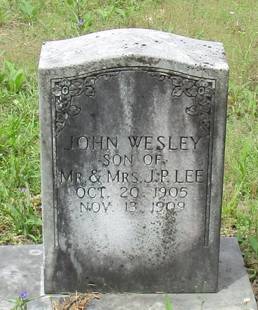 LEE, JOHN WESLEY - Cass County, Texas | JOHN WESLEY LEE - Texas Gravestone Photos