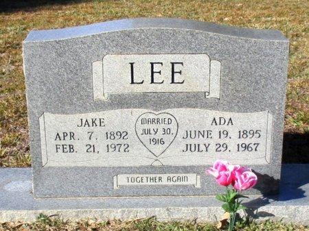 LEE, ADA   - Cass County, Texas | ADA   LEE - Texas Gravestone Photos