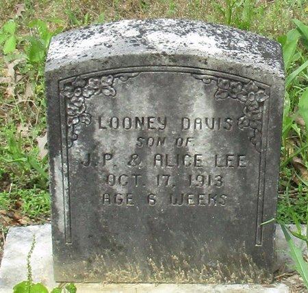 LEE, LOONEY DAVIS - Cass County, Texas   LOONEY DAVIS LEE - Texas Gravestone Photos