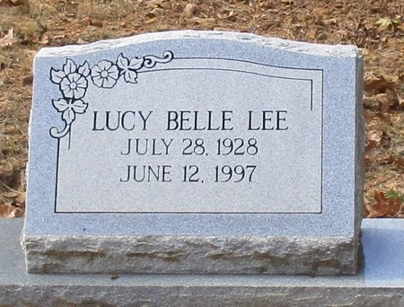 LEE, LUCY BELLE - Cass County, Texas | LUCY BELLE LEE - Texas Gravestone Photos