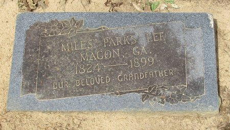 LEE, MILES PARKS - Cass County, Texas | MILES PARKS LEE - Texas Gravestone Photos