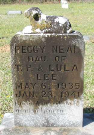 LEE, PEGGY NEAL  - Cass County, Texas | PEGGY NEAL  LEE - Texas Gravestone Photos