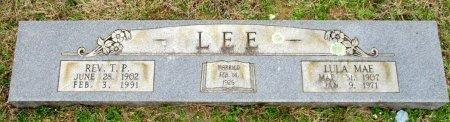 LEE, LULA MAE  - Cass County, Texas | LULA MAE  LEE - Texas Gravestone Photos