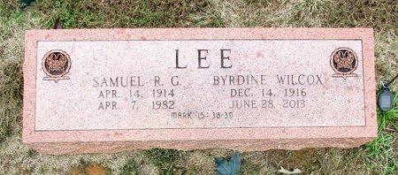 LEE, SAMUEL R. G. - Cass County, Texas | SAMUEL R. G. LEE - Texas Gravestone Photos