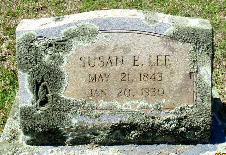 LEE, SUSAN E. - Cass County, Texas | SUSAN E. LEE - Texas Gravestone Photos