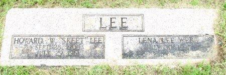 LEE, LENA - Cass County, Texas | LENA LEE - Texas Gravestone Photos