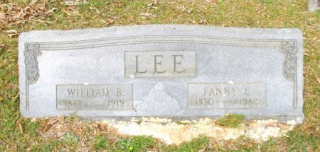 LEE, FANNY E.  - Cass County, Texas | FANNY E.  LEE - Texas Gravestone Photos