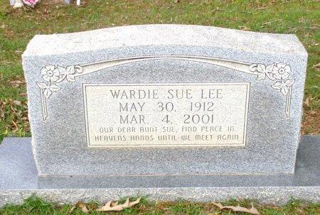 LEE, WARDIE SUE  - Cass County, Texas | WARDIE SUE  LEE - Texas Gravestone Photos