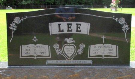LEE, WM HOWARD  - Cass County, Texas | WM HOWARD  LEE - Texas Gravestone Photos