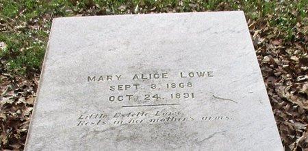 LOWE, ESTELLE - Cass County, Texas | ESTELLE LOWE - Texas Gravestone Photos