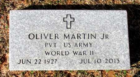 MARTIN, JR (VETERAN WWII), OLIVER - Cass County, Texas | OLIVER MARTIN, JR (VETERAN WWII) - Texas Gravestone Photos