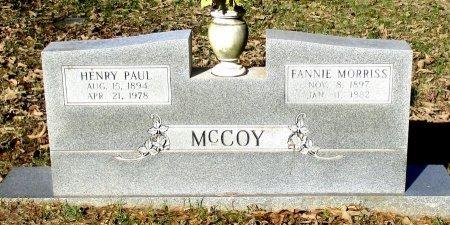 MCCOY, HENRY PAUL  - Cass County, Texas | HENRY PAUL  MCCOY - Texas Gravestone Photos