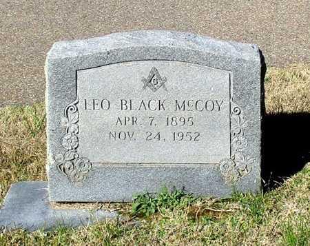 MCCOY, LEO BLACK  - Cass County, Texas   LEO BLACK  MCCOY - Texas Gravestone Photos