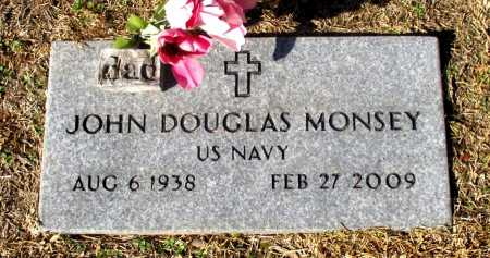 MONSEY (VETERAN), JOHN DOUGLAS - Cass County, Texas | JOHN DOUGLAS MONSEY (VETERAN) - Texas Gravestone Photos