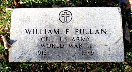 PULLAN (VETERAN WWII), WILLIAM F.  - Cass County, Texas   WILLIAM F.  PULLAN (VETERAN WWII) - Texas Gravestone Photos