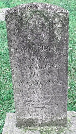 ROBINSON, HILARY E. - Cass County, Texas   HILARY E. ROBINSON - Texas Gravestone Photos
