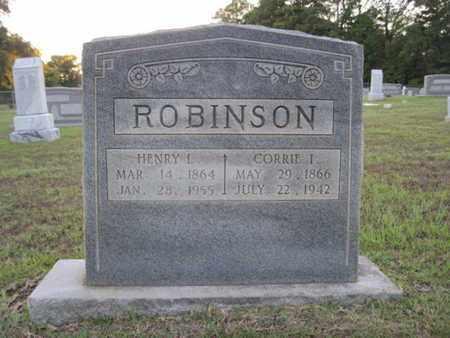 ROBINSON, HENRY L - Cass County, Texas | HENRY L ROBINSON - Texas Gravestone Photos