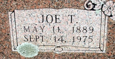 ROBINSON, JOE T. (CLOSE UP) - Cass County, Texas | JOE T. (CLOSE UP) ROBINSON - Texas Gravestone Photos