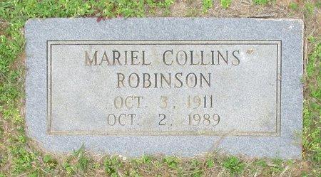 ROBINSON, MARIEL - Cass County, Texas | MARIEL ROBINSON - Texas Gravestone Photos