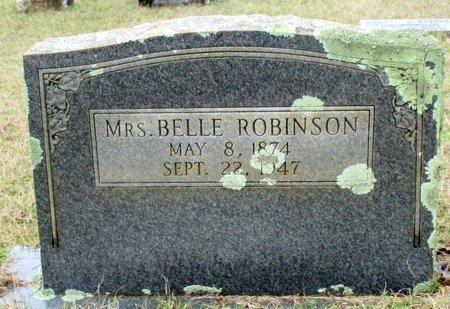 ROBINSON, BELLE, MRS.  - Cass County, Texas | BELLE, MRS.  ROBINSON - Texas Gravestone Photos