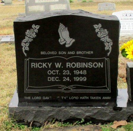 ROBINSON, RICKY W. - Cass County, Texas | RICKY W. ROBINSON - Texas Gravestone Photos