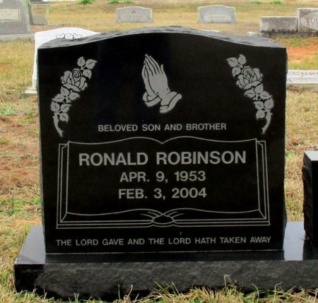 ROBINSON, RONALD  - Cass County, Texas | RONALD  ROBINSON - Texas Gravestone Photos
