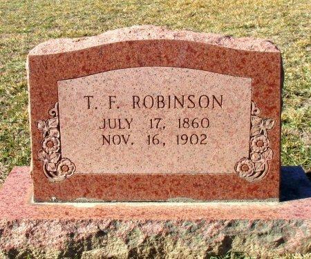 ROBINSON, T.  F. - Cass County, Texas | T.  F. ROBINSON - Texas Gravestone Photos