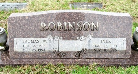 ROBINSON, THOMAS W. - Cass County, Texas | THOMAS W. ROBINSON - Texas Gravestone Photos