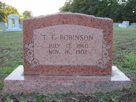 ROBINSON, T F - Cass County, Texas   T F ROBINSON - Texas Gravestone Photos