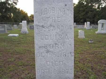 ROBINSON, T J - Cass County, Texas   T J ROBINSON - Texas Gravestone Photos