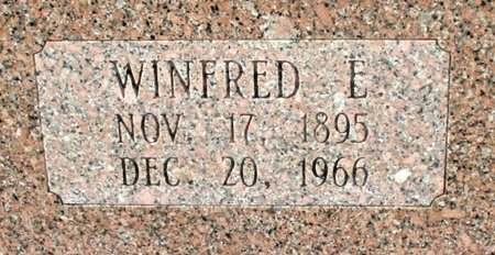 ROBINSON, WINFRED E. (CLOSE UP) - Cass County, Texas   WINFRED E. (CLOSE UP) ROBINSON - Texas Gravestone Photos