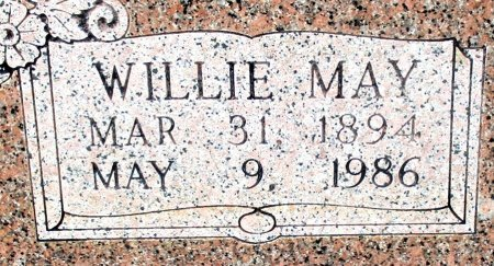 ROBINSON, WILLIE MAY (CLOSE UP)  - Cass County, Texas | WILLIE MAY (CLOSE UP)  ROBINSON - Texas Gravestone Photos