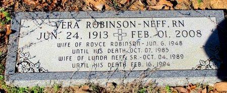 ROBINSON, VERA - Cass County, Texas | VERA ROBINSON - Texas Gravestone Photos