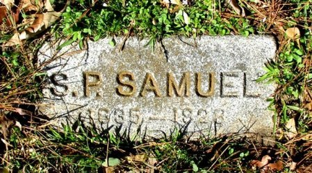 SAMUEL, S P  - Cass County, Texas   S P  SAMUEL - Texas Gravestone Photos