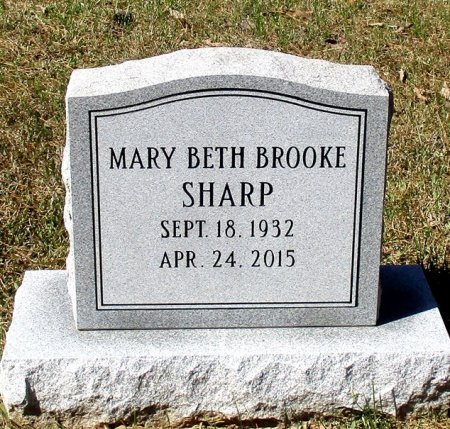 SHARP, MARY BETH  - Cass County, Texas | MARY BETH  SHARP - Texas Gravestone Photos
