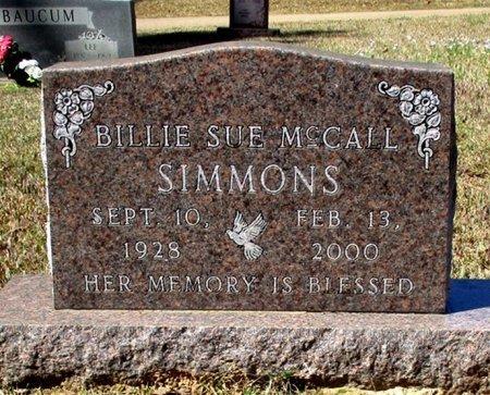 SIMMONS, BILLIE SUE  - Cass County, Texas | BILLIE SUE  SIMMONS - Texas Gravestone Photos