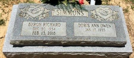 SIMMONS, BYRON RICHARD - Cass County, Texas | BYRON RICHARD SIMMONS - Texas Gravestone Photos