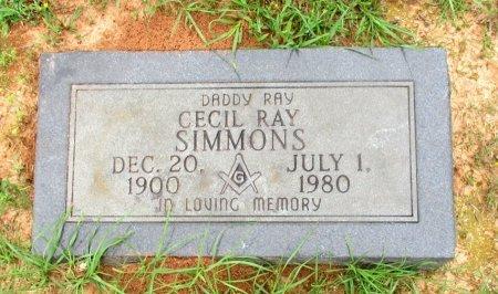 SIMMONS, CECIL RAY  - Cass County, Texas | CECIL RAY  SIMMONS - Texas Gravestone Photos