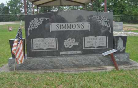 SIMMONS, JIMMIE SUE - Cass County, Texas | JIMMIE SUE SIMMONS - Texas Gravestone Photos