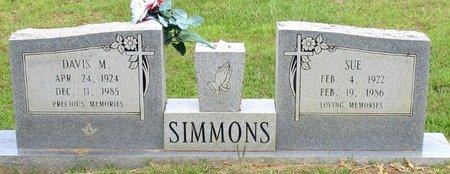 SIMMONS, DAVIS M. - Cass County, Texas | DAVIS M. SIMMONS - Texas Gravestone Photos
