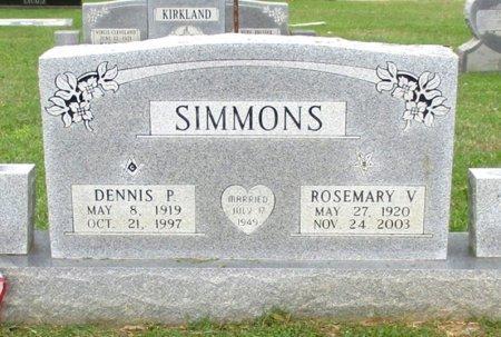 SIMMONS, ROSEMARY V  - Cass County, Texas   ROSEMARY V  SIMMONS - Texas Gravestone Photos