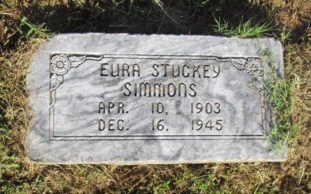 SIMMONS, EURA - Cass County, Texas   EURA SIMMONS - Texas Gravestone Photos