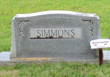 SIMMONS, FAMILY MARKER - Cass County, Texas | FAMILY MARKER SIMMONS - Texas Gravestone Photos