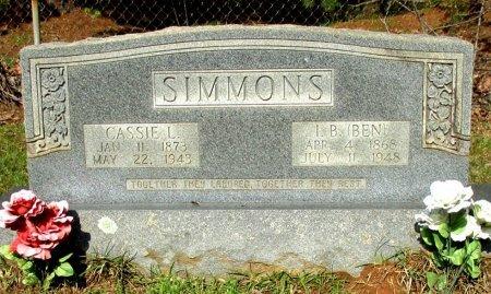 SIMMONS, CASSIE L. - Cass County, Texas | CASSIE L. SIMMONS - Texas Gravestone Photos